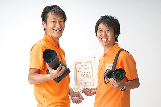 佐藤写真館が選ばれる理由11「多数の受賞歴のあるカメラマンが撮影します」のサムネイル