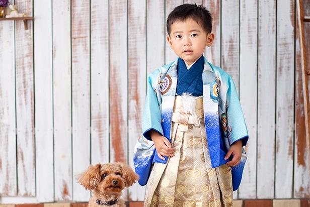 佐藤写真館が選ばれる理由05「ペットと一緒の撮影も可能です」のサムネイル