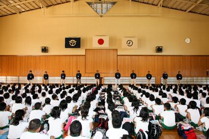 第四福田小学校海の学習