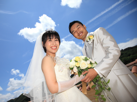 結婚式スナップは式までの時間でこんな素敵な写真も撮れちゃいます。