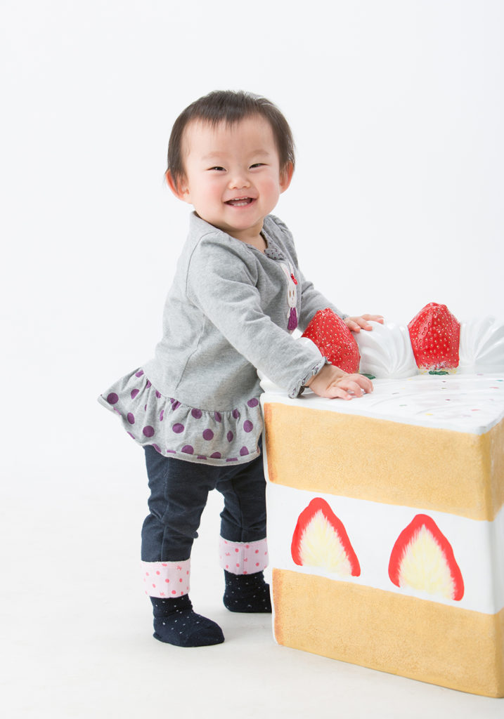 誕生日と言えばケーキでしょ!