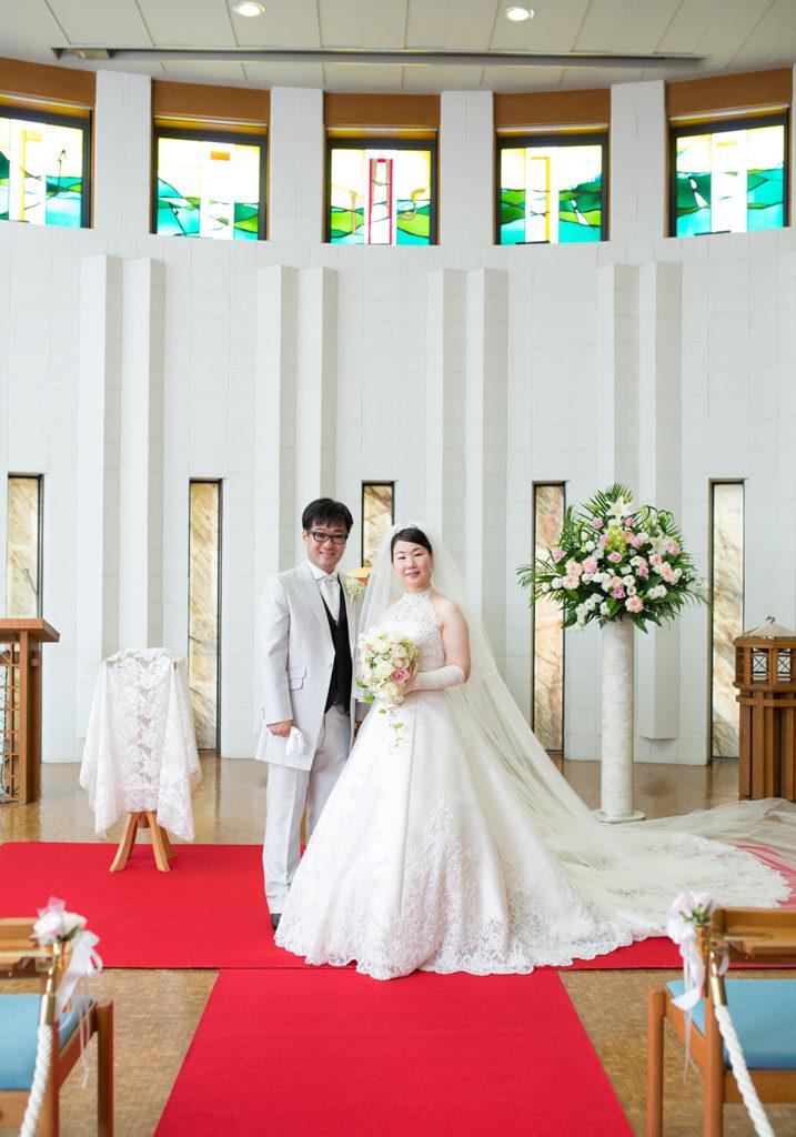 結婚式,ウエディング,2人写し