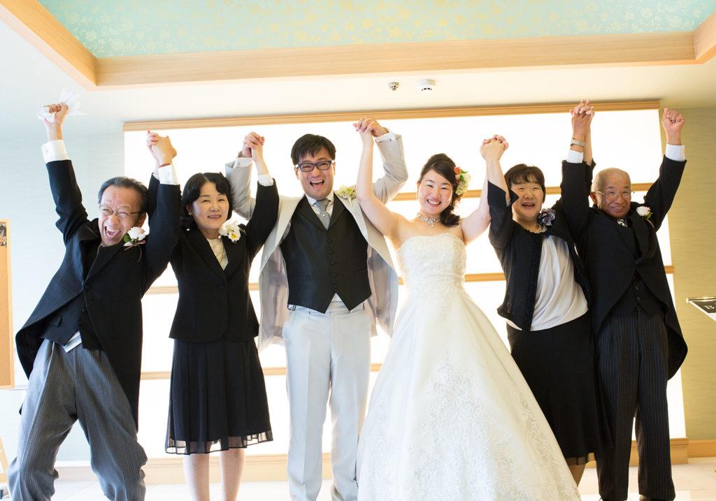 結婚式,ウエディング,家族写真