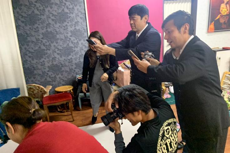 スタジオの特徴「お手持ちのカメラでの撮影OK!!」
